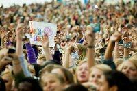 Fjerner markedsføring for Bieber-konsert