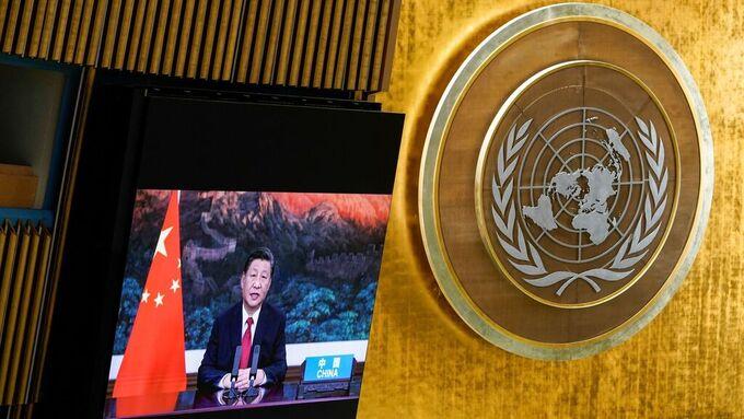 Kina president i FN: Vil slutte å finansiere kullprosjekter i utlandet – VG Nå: Nyhetsdøgnet - VG