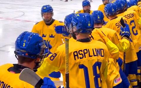 Småkronorna besegrade Lettland med 7–0