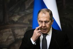 Russlands utenriksminister Sergej Lavrov advarer Norge og Vesten. Foto: Alexander Zemlianichenko / AP / NTB