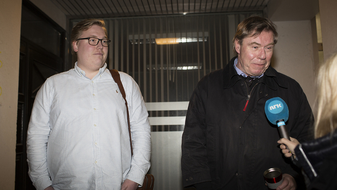 HVEM BLIR LEDER: Lokallagsleder Christoffer Thomsen og listetopp Tor Woldseth.