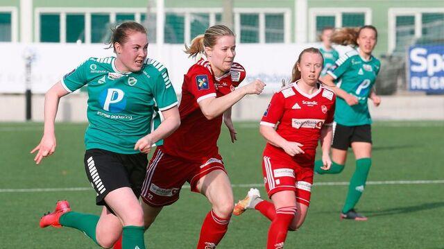 TAPTE: Vilde Bratland og Fløya gikk på nytt tap i 1.-divisjon.