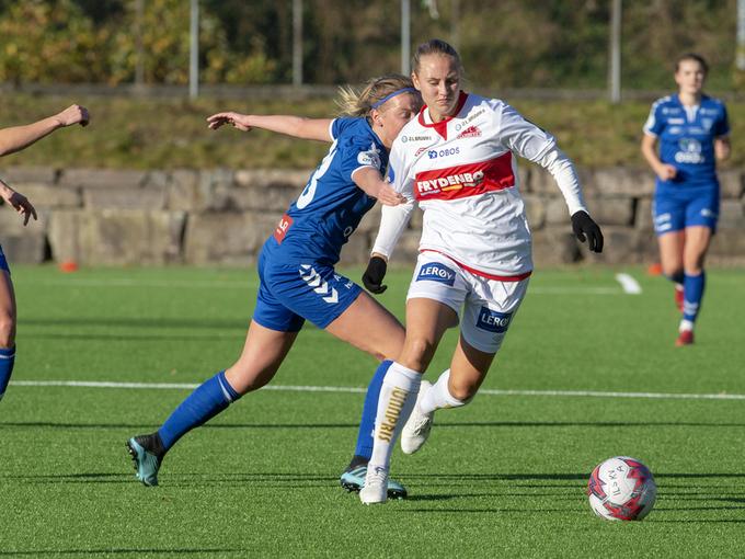 Sandvikens stjerne Lisa Naalsund er blant spillerne som nå blir permittert.