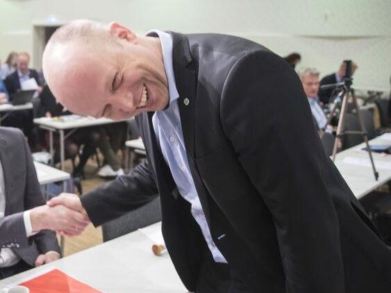 VEKST: Sp-leder Trygve Slagsvold Vedum kan glise over stadig vekst i medlemstallet for partiet. Nå har Senterpartiet over 20.000 medlemmer.