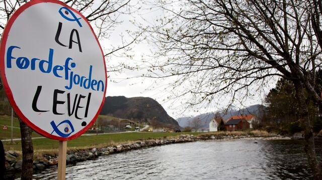Et av stridspunktene er kjemikaliebruk og utslipp av potensielt miljøskadelige stoffer til Førdefjorden, som også har status som nasjonal laksefjord.