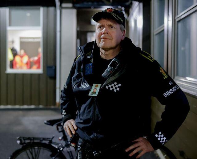 Politiets innsatsleder Rune Vedeler.