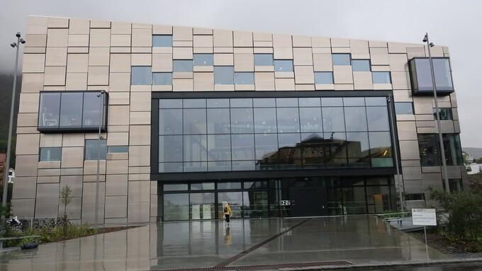 PENGEPROBLEMER: Fakultet for kunst, musikk og design flyttet inn i nybygg i 2017.