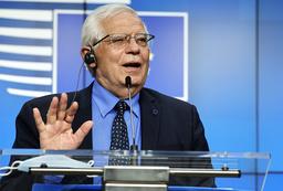 EUs utenrikssjef Josep Borrell skal avholde hastemøte om situasjonen i Israel og på Gazastripen. Foto: Olivier Matthys / AP / NTB