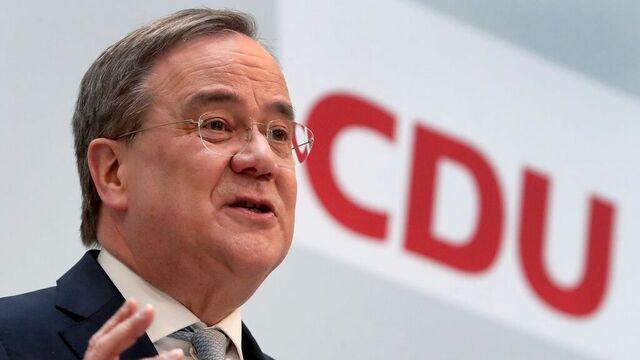Armin Laschet kan etterfølge Angela Merkel hvis partiet vinner.