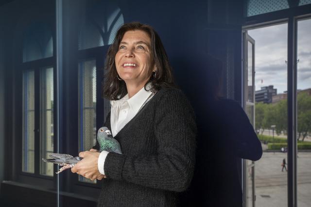 Frie ytrere fra Afghanistan tildeles Ossietzkyprisen for 2021, opplyser Kjersti Løken Stavrum, styreleder i Norsk Pen. Foto: Heiko Junge / NTB