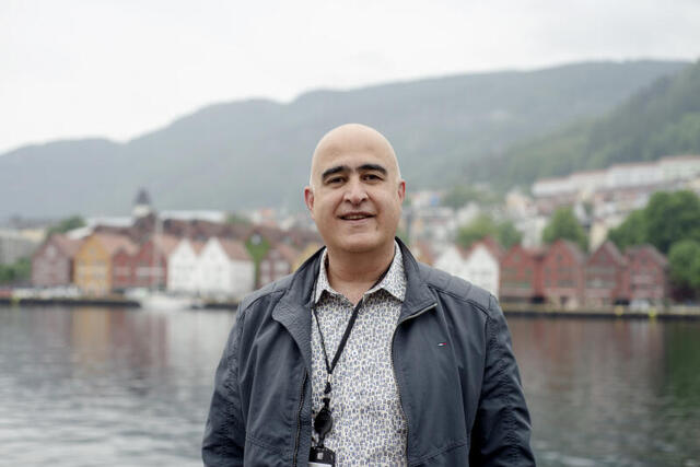 Bergen kommunes vaksinesjef Hossein Tehrani.