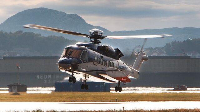 Et Sikorsky S-92 på Sola lufthavn.