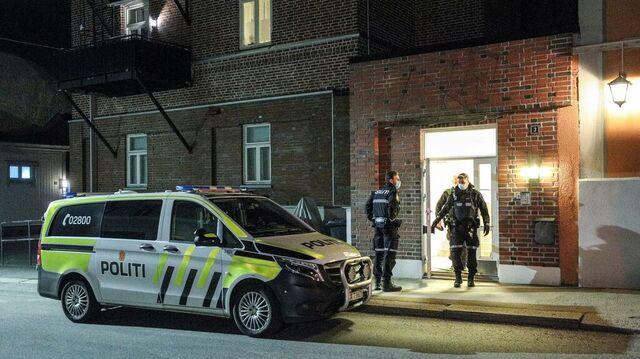 Drapet fant sted i denne bygningen med seks leiligheter i Halden sentrum. Foto: Hans O. Torgersen