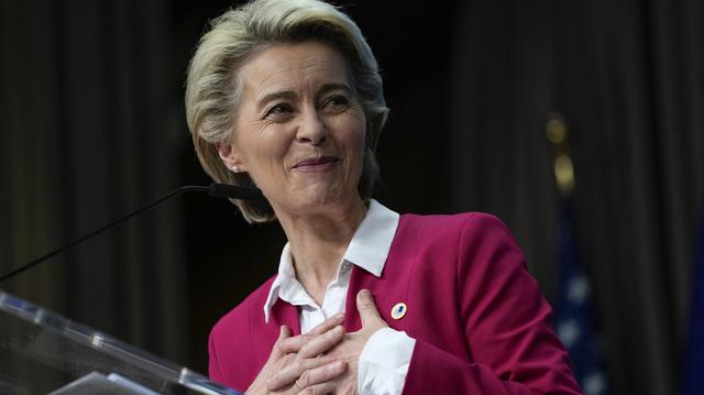 EU-sjef Ursula von der Leyen sier hun ser fram til EUs gjenreisning etter pandemien.