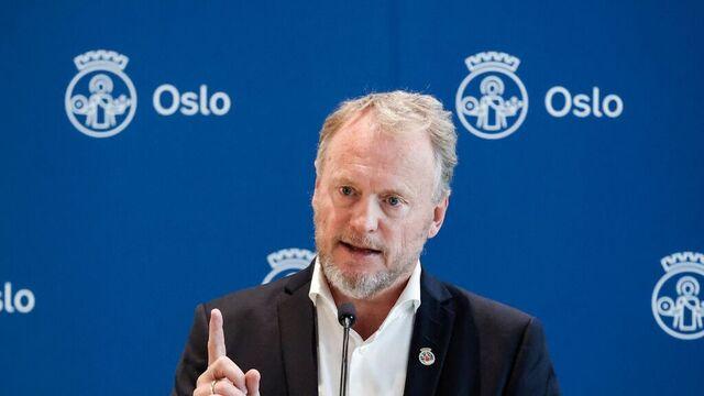 Raymond Johansen, byrådsleder i Oslo.
