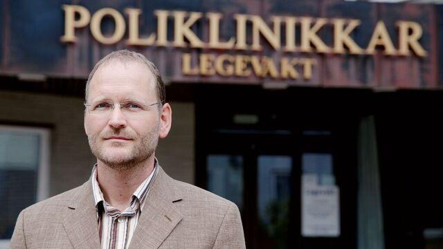Kommuneoverlege Klaus Melf.