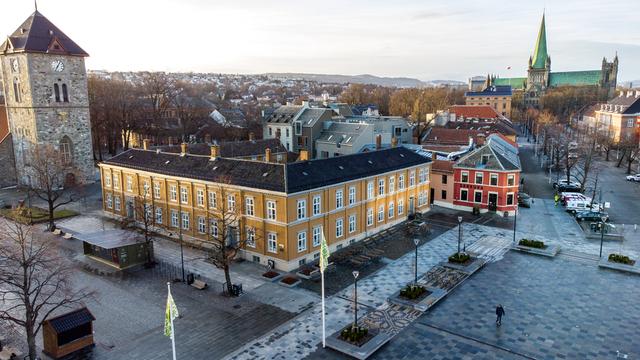 I perioden fra mandag til onsdag er det registrert 73 personer med koronasmitte i Trondheim. Foto: Gorm Kallestad / NTB