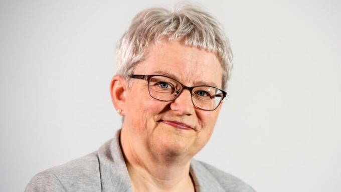 Etatsdirektør Brita Øygard.