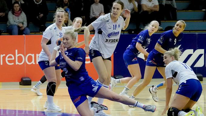 LEDER: Katarina Berens og Tertnes gikk til pause på stillingen 18-14