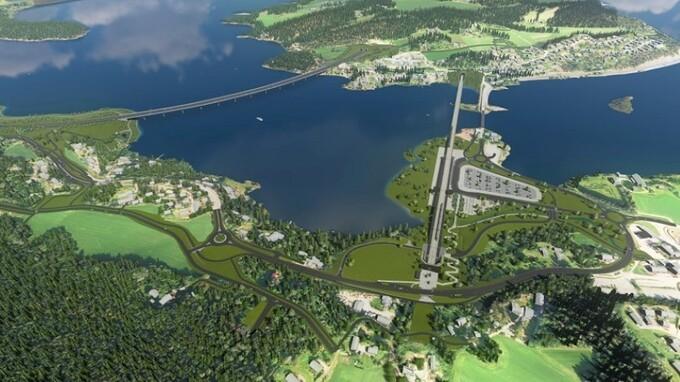 FORSINKET: Det kan bli 2030-tallet før forkortelsen av Bergensbanen er klar.