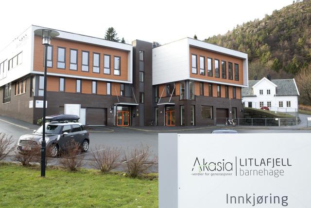 Litlafjell barnehage var en av fem barnehager som Akasia kjøpte i 2013.