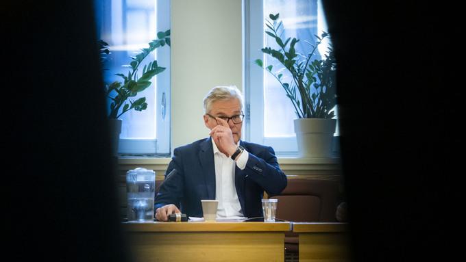 SPENT: Parlamentarisk leder i Frp, Hans Andreas Limi.