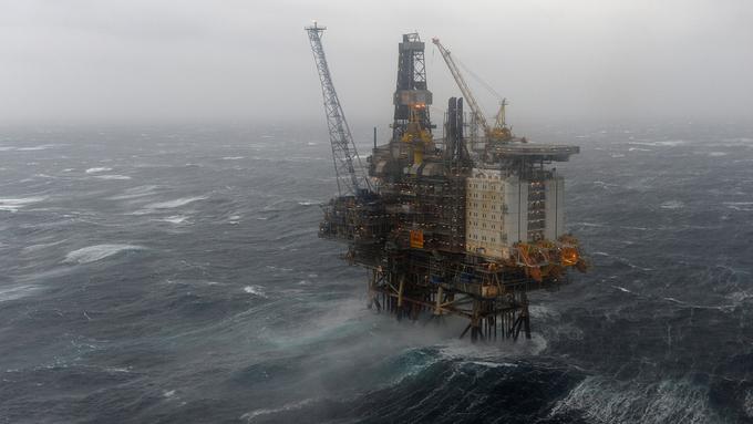STRIDENS KJERNE: Miljøorganisasjonene har ment at oljeboringen og utslippene av klimagasser er i strid med miljøparagrafen i Grunnloven.