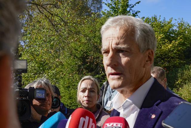Påtroppende statsminister Jonas Gahr Støre (Ap).