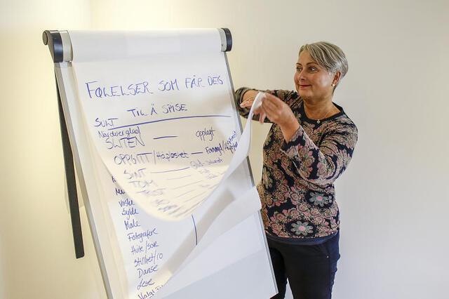 Regjeringen vil gi generalsekretær Irene Kingswick i ROS ni millioner ekstra i arbeidet mot spiseforstyrrelser.