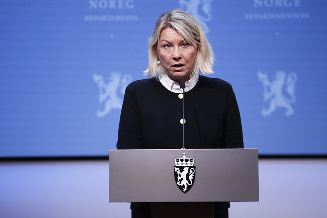 Monica Mæland har nylig gått av som justisminister. Nå blir hun partner i et advokatfirma. Foto: Javad Parsa / NTB