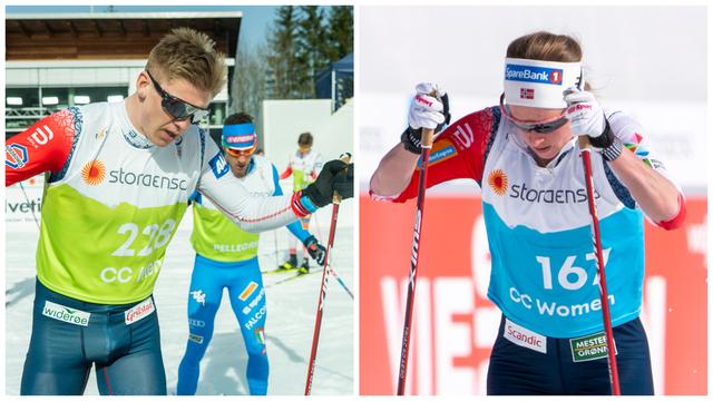 Erik Valnes og Anna Svendsen