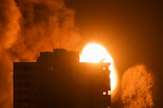 Israel har utført nye, kraftige angrep mot Gazastripen.