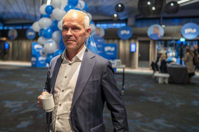 Avtroppende finansminister Jan Tore Sanner (H).