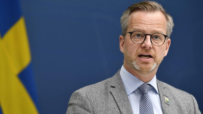 Sveriges innenriksminister Mikael Damberg.