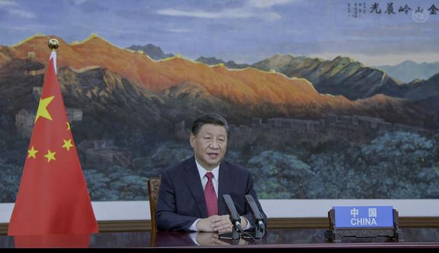 Kinas president Xi Jinping får skryt for kunngjøringen om å stanse finansiering av kullprosjekter utenlands. Foto: UN Web TV via AP / NTB