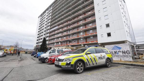 DRAP: Sebastian Seterås ble funnet død utenfor denne blokken i fjor vår