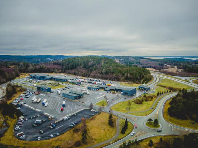 Det var ved tollstasjonen på Svinesund at beslaget fant sted. Foto: Stian Lysberg Solum / NTB