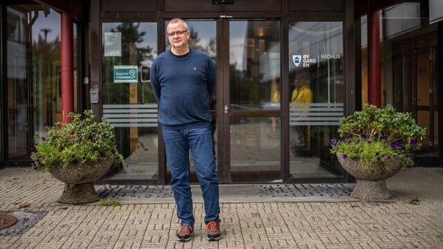 Smittevernoverlege Jens Eikås i Øygarden.