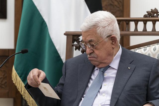 Palestinere flest er lei av president Mahmoud Abbas (85) og mener Hamas bør representere det palestinske folk, viser en ny meningsmåling. Foto: AP / NTB