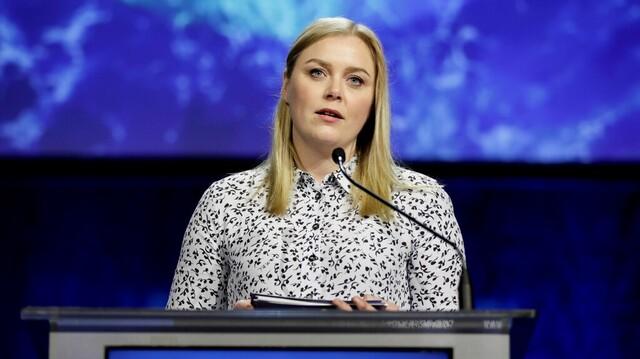 Tina Bru fra Rogaland er ny nestleder i Høyre.