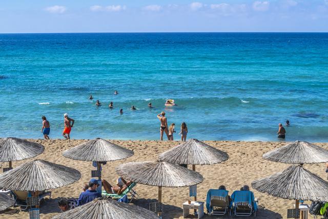 Ving stanser turene til Kreta. Foto: Halvard Alvik / NTB