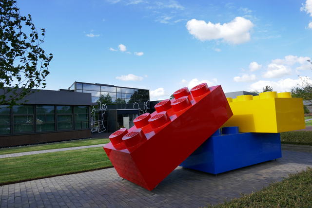 Lego-hovedkvarteret i Billund i Danmark. Foto: Erik Johansen / NTB