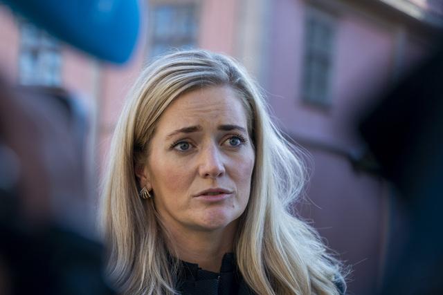 Justisminister Emilie Enger Mehl (Sp) har bedt om at politiet og helsetjenestene må ta en gjennomgang av ansvar og oppgaver som gjelder psykisk syke personer. Foto: Terje Pedersen / NTB