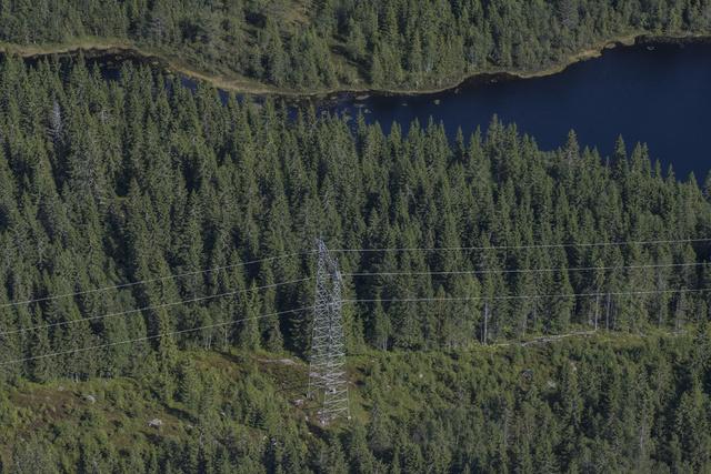 Norge eksporterte strøm for 5,1 milliarder kroner i første halvår. Foto: Vidar Ruud / NTB