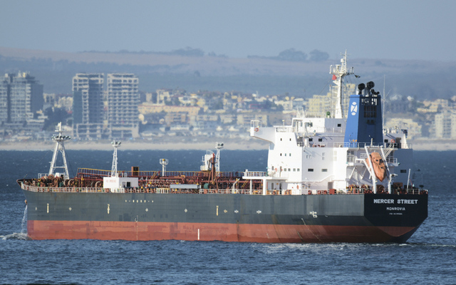 Et bilde fra 2016 viser skipet som ble angrepet før helgen. Foto: Johan Victor via AP / NTB