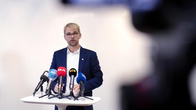 Byrådsleder Roger Valhammer i Bergen Byråd