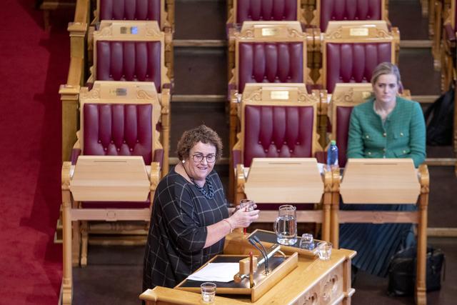Kristelig Folkeparti i Trøndelag vedtok onsdag kveld at de ønsker Olaug Bollestad som ny leder i partiet. Foto: Javad Parsa / NTB