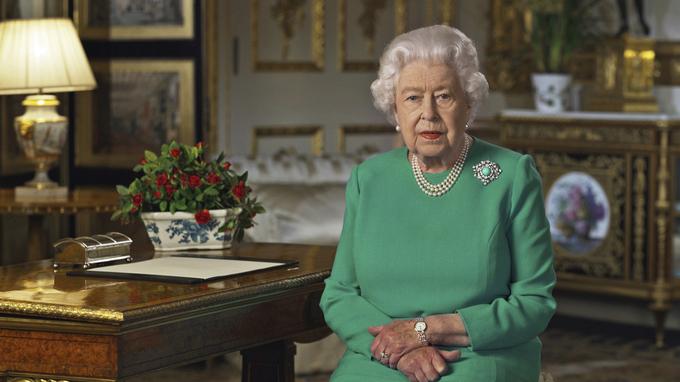 Dronning Elizabeth II talte til det britiske folket
