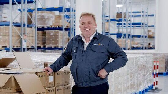 Direktør i Corvus, Geir Bjørkeli