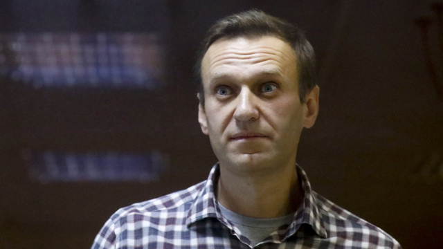 Aleksej Navalnyj under et fengslingsmøte tidligere i år. Foto: Alexander Zemlianichenko / AP / NTB